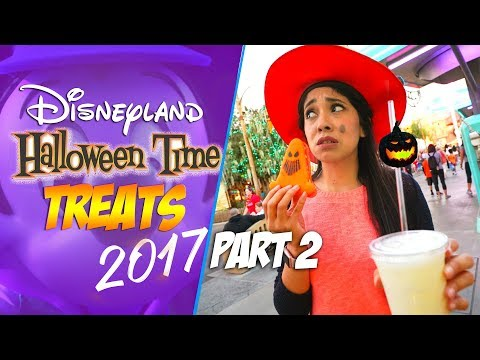 Halloween Time Foods at Disneyland are Truly Spooktacular!!