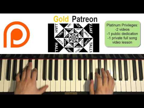 Tally Hall - Never Meant To Know (Piano Cover) | Patreon Dedication #82