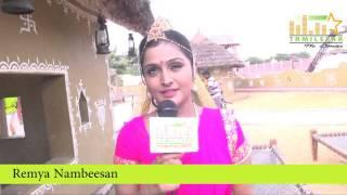 Remya Nambeesan at Naalu Policeum Nalla Irundha Oorum Shooting Spot