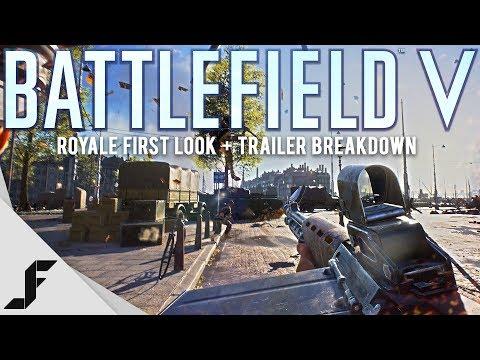 Battlefield 5 Battle Royale First Look + Trailer Breakdown (видео)