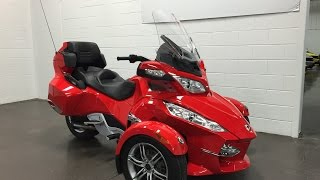 4. 2012 Can Am Spyder RT SE5 automatic SOLD Munro Motors