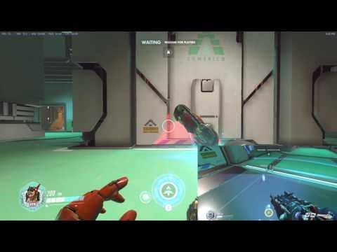 BUG? 辛梅塔的右鍵可以穿過實體的牆?