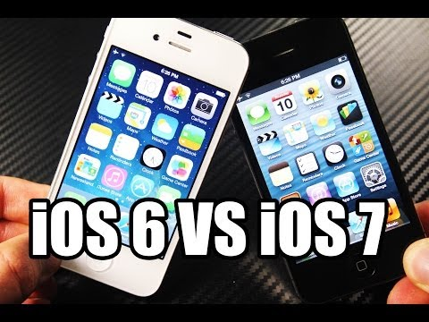 iphone 4 - Comparison Between iOS 7 & iOS 6 iPhone 4, Also How To Speed Up 7.0.2 On Your iPhone 4th Gen! Make Your iPhone Faster On The Latest Apple Firmware.