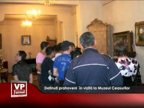 Deţinuţi prahoveni  în vizită la Muzeul Ceasurilor