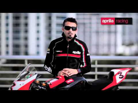Aprilia SBK - Biaggi talks about 2012 season