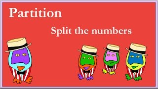The Number Crunchers explain how to add numbers by partitioning.