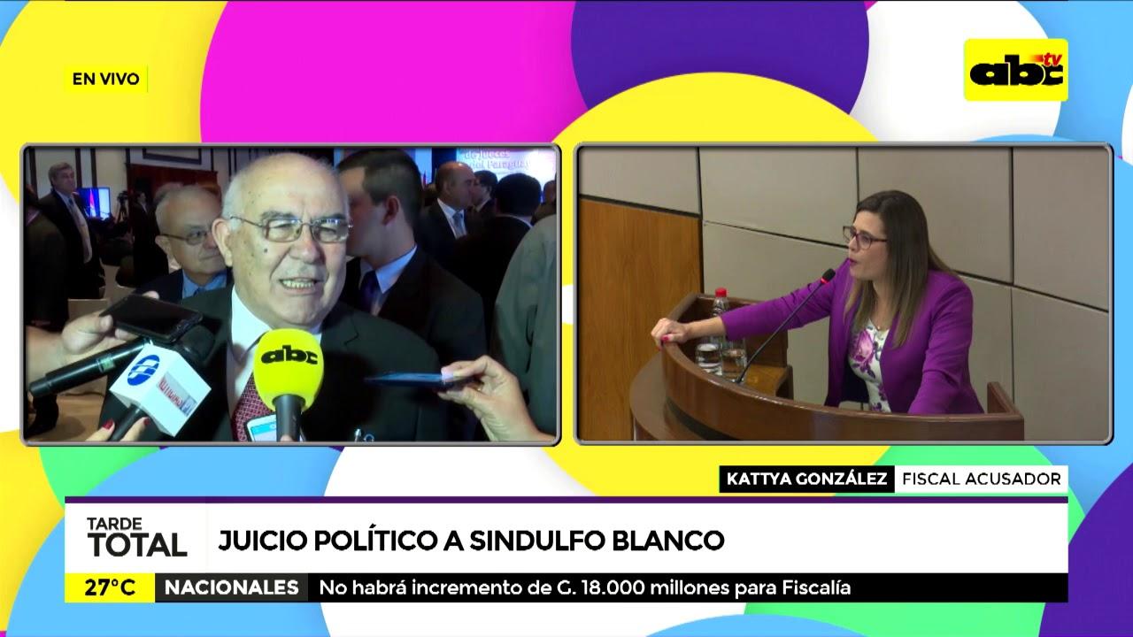 Juicio político a Sinduldo Blanco