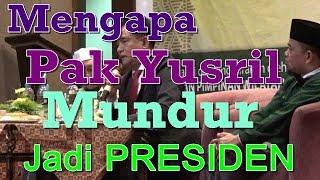 Download Video Mengapa Pak Yusril Mundur Jadi Presiden ????? MP3 3GP MP4