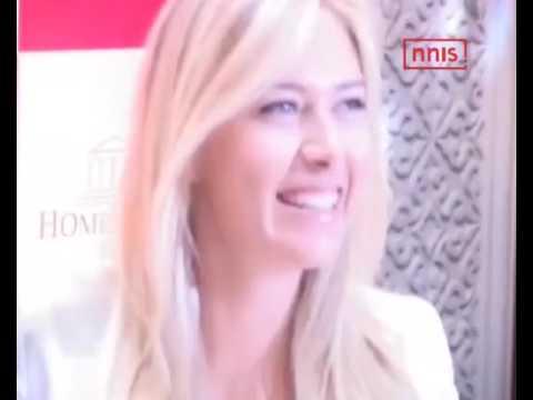 Sharapova Shuts Critics