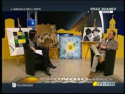 YouTube Video - Corrado Luglio a Telereggio, Circolo degli Artisti di Reggio Emilia