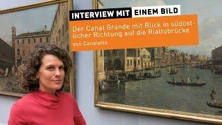 """""""Der Canal Grande"""" von Canaletto"""