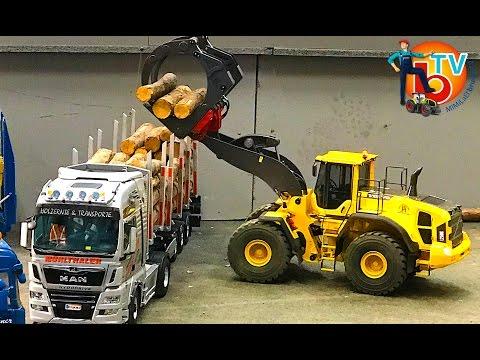 BRUDER Tamiya TRUCK RC traktor  - Parcours 🚚Modelltruck🚛🚜 ModellBau Wels 2017