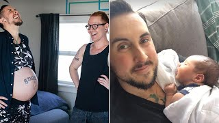 Video Transgender Man Gives Birth to Healthy Boy: 'He's a Big Baby' MP3, 3GP, MP4, WEBM, AVI, FLV Januari 2019