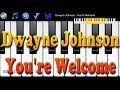 Download Video Piano Melody App - Dwayne Johnson - You're Welcome