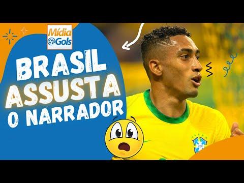 "Narrador URUGUAIO [SE DESESPERA] - BRASIL 4 x 1 Uruguai - ""Foi TERRÍVEL"""