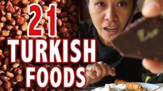 Video TOP 21 TURKISH FOODS   Istanbul Food Guide MP3, 3GP, MP4, WEBM, AVI, FLV November 2018