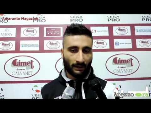 Arezzo-Real Vicenza 2-0 / Intervista a Dettori