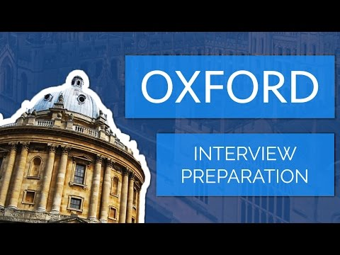oxford - Welcome to the Fifth Video in the series all about applying to Oxford! Interview examples: https://docs.google.com/open?id=0B7Hp4MrRv8_EbEw2cDk2WG9TUEtPM3BnS...