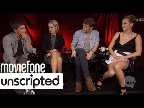 Unscripted - Jennifer Lawrence, Josh Hutcherson, Jena Malone and Sam Claflin answer fan questions about their new movie 'The Hunger Games: Catching Fire' in this Unscript...