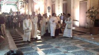 Castellammare del Golfo Italy  city photo : La Processione in onore di Maria SS. del Soccorso a Castellammare del Golfo