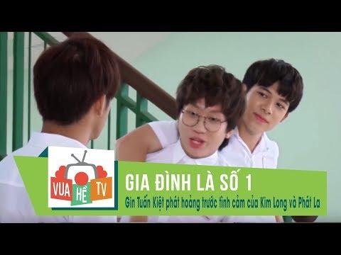 Gia đình là số 1 | Gin Tuấn Kiệt phát hoảng trước tình cảm mặn nồng của Kim Long và Phát La (p3) - Thời lượng: 10:02.