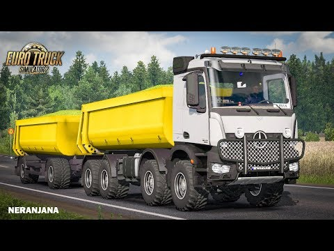 KIPPER AGRAR TRAILER ETS2 DX11 1.36.x