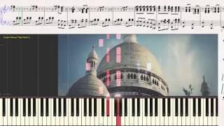 Padam Padam - ZAZ (Ноты для фортепиано) (piano cover)