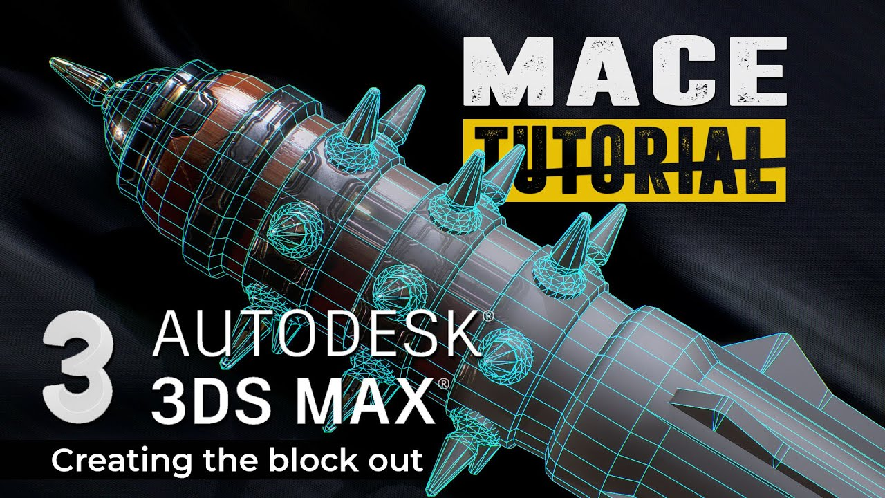 3ds max tutorial creating block out