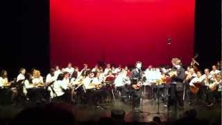 """Feloche """"Tous les jours"""" (extrait)  avec L'Estudiantina d'Argenteuil (mandolin orchestra)"""