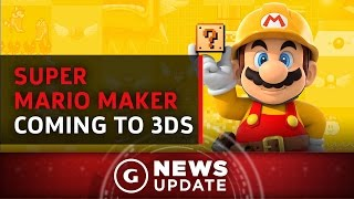 Super Mario Maker Coming to 3DS - GS News Update by GameSpot