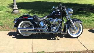 8. 2005 Harley Softail Deluxe