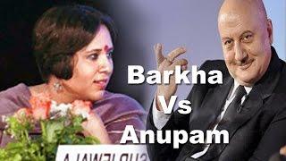 Video Barkha Dutt Vs Anupam Kher ,Telegraph National Debate 5th march 2016 | Logic Vs Impulse MP3, 3GP, MP4, WEBM, AVI, FLV April 2019