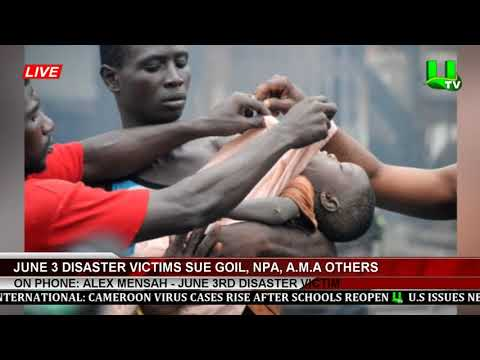 June 3 Disaster Victims Sue Goil, NPA, AMA Others
