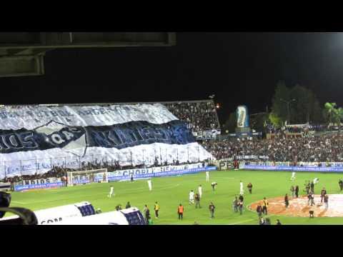 QUILMES 0 INDEPENDIENTE 0 - Despliegue del TELÓN INDIOS KILMES - Indios Kilmes - Quilmes