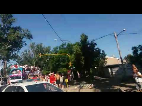 Recibimiento de Huracan Las Heras campeón Federal B 2016 - La Banda Nº 1 - Huracán Las Heras - Argentina - América del Sur