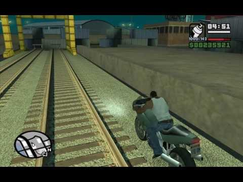 เกมGTA - Starter Save - Part 11 - The Chain Game - GTA San Andreas PC - complete walkthrough (showing all details) - achieving ??.??% Game Progress before doing the s...