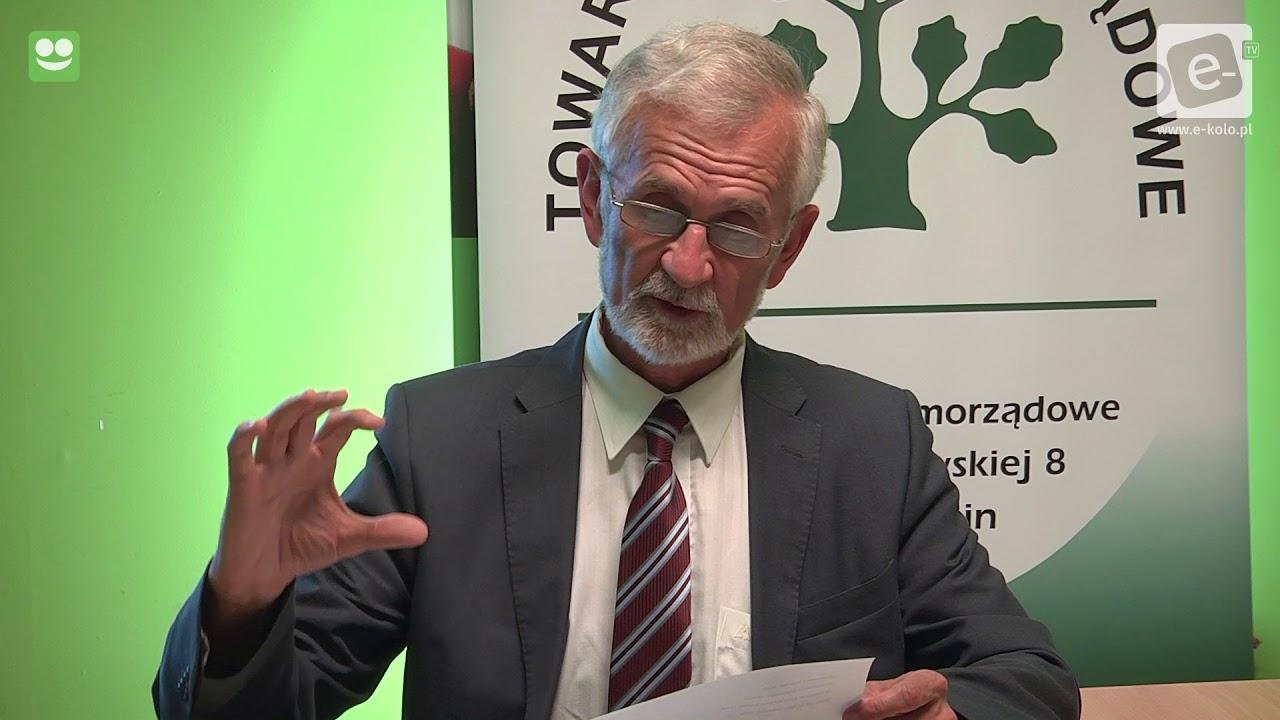 Konferencja prasowa Ireneusza Niewiarowskiego 22.05.2018