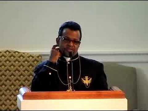 Rev. Carlton Pearson preaching at All Souls Unitarian Universalist in Tulsa, OK