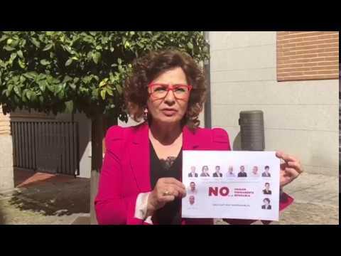 El PSOE fue quien votó en contra de la prisión per...