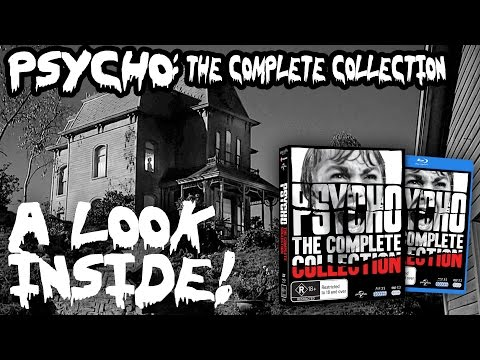 A Look At The Psycho: The Complete Collection Blu-ray Set