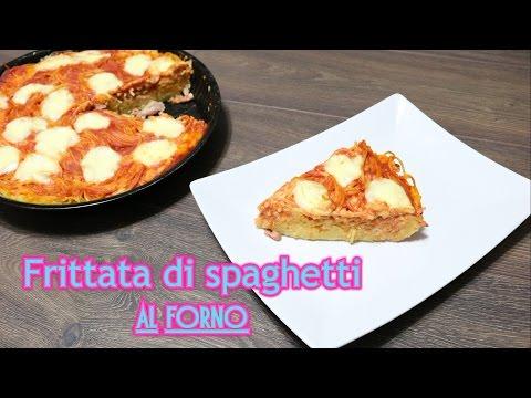 frittata di spaghetti al forno - ricetta