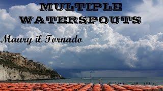 Time-Lapse - Trombe Marine (Multiple Waterspouts) Vieste (FG) - 21 Agosto 2015