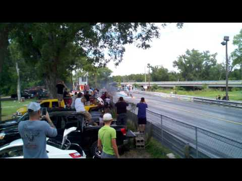 Cummins-powered Mustang makes impressive pass at the strip