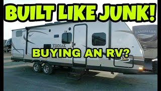 1. WOW, RVs are JUNK!  What you need to know!