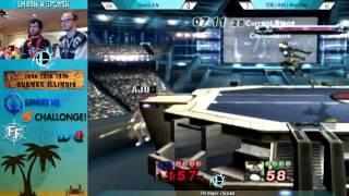 Smash n' Splash Winners Quarters: Mew2king (Sheik) vs Ally (Ike)