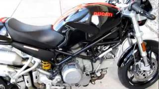 6. 2006 Ducati Monster S2R hear it run only 3,000 miles for sale