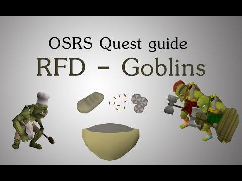 Freeing - Runescape Recipe for disaster - freeing the goblin generals quest guide walkthrough with live commentary in the Old school servers 07scape/ 2007 rs / 07rs / ...