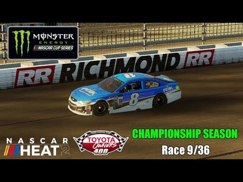 Video NASCAR Heat 2 | Championship Season | Monster Energy Series | Race 9/36 | Toyota Owners 400 download in MP3, 3GP, MP4, WEBM, AVI, FLV January 2017