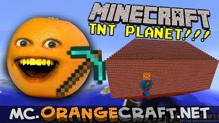 Annoying Orange Minecraft: PLANET SPLODY!!!