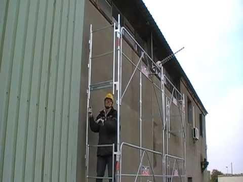 Montage Garde-corps latéral mds cat 2 gamme sécurifran